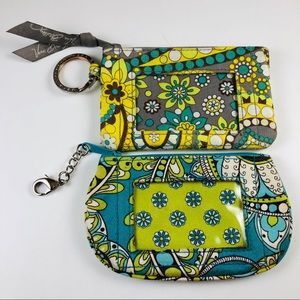 Two Vera Bradley Coin Purses ID Holders